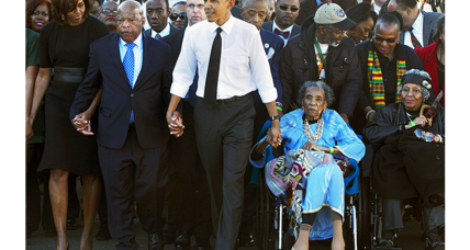 'Bloody Sunday' civil rights activist Amelia Boynton Robinson dies