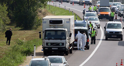 Migrants found dead in truck on Austrian highway