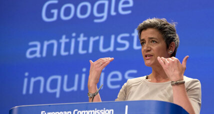 Google denies Europe's antitrust accusations