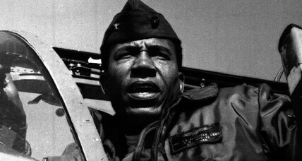 Frank Petersen Jr.: 'quiet giant' repeatedly shattered military color barriers