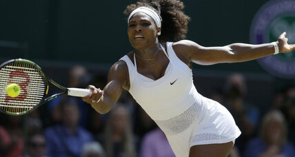 Serena Williams goes for Grand Slam, embodying new type of feminine ideal