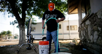 When the wells run dry, California neighbors cope in drought
