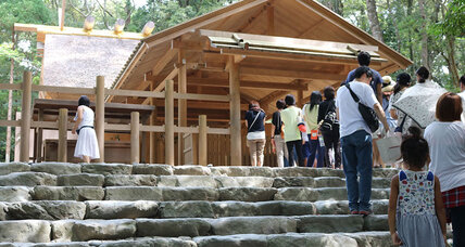 In 'non-religious' Japan, the shrine can still exert a pull