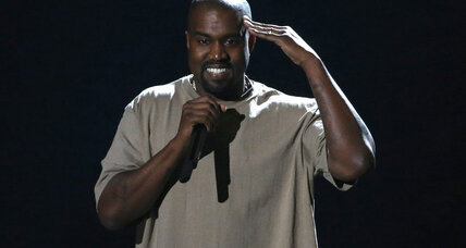 Is Kanye West really running for president? Stranger things have happened.