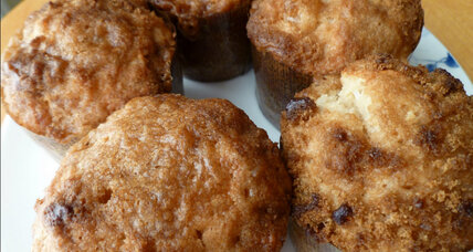 Pineapple upside muffins