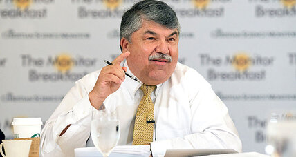 Trumka vs. Trump: Labor leader warns that 'racist' rhetoric is dangerous