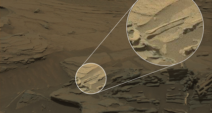 Did Curiosity really find a levitating spoon on Mars?