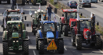 Why are French farmers (and their tractors) protesting in Paris?