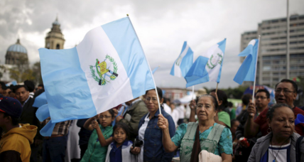 Guatemalan ex-president resigns, is jailed