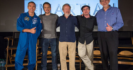 NASA and 'The Martian' partner to make space 'cool' – and accurate