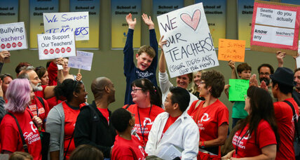 Seattle teachers strike: Why 50,000 kids won't be going back to school