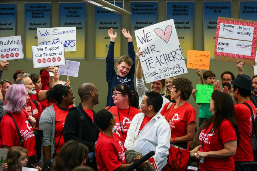 Seattle teachers strike: Why 50,000 kids won't be going back to school - CSMonitor.com