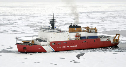 Ice breaker: US Coast Guard sends first solo ship to North Pole