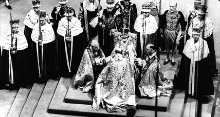 From the Monitor Archives: Elizabeth II is crowned queen
