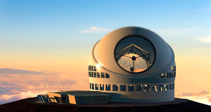 Why are Hawaiians protesting a giant telescope?
