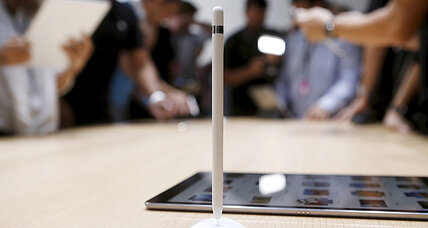 Apple kicks it old school with latest reveal ... a pencil?