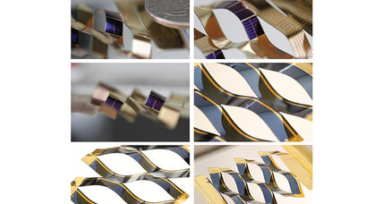 How origami can make solar panels more efficient