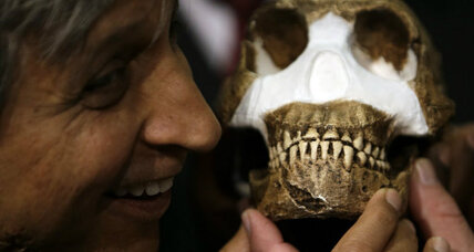 Ancient burial chamber raises deep questions about early human relatives