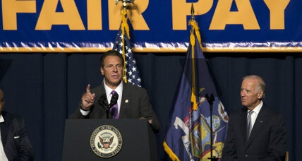 $15 minimum wage coming to New York? Governor says yes. (+video)