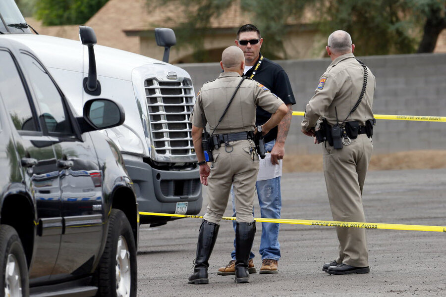 Arizona freeway shooting suspect in custody: 'We got him