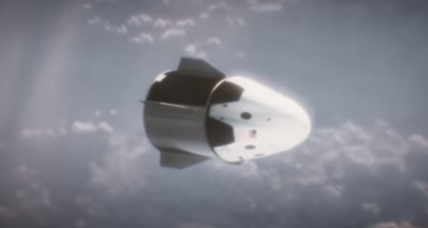 All aboard! Tour SpaceX's Crew Dragon space capsule