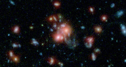 Galaxy amazes astronomers by producing 800 stars per year