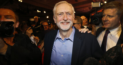 Britain's Labour Party elects Jeremy Corbyn as new leader