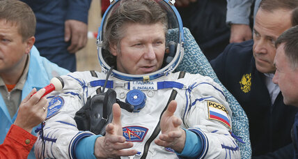 Space records shatter as astronaut returns home