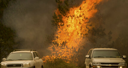 Four firefighters injured in northern California wildfires: Is relief on the way? (+video)