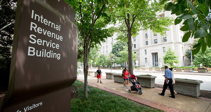 Why the IRS won't take checks for $100 million or more