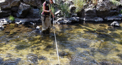 With snowpack at 500-year low, hydrologists fish for coping strategies (+video)
