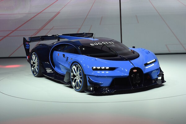 bugatti shows off vision gran turismo concept at frankfurt. Black Bedroom Furniture Sets. Home Design Ideas