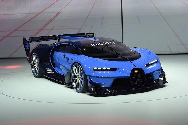 Bugatti Shows Off Vision Gran Turismo Concept At Frankfurt