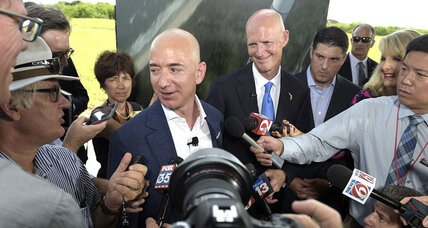 Jeff Bezos to launch into space race: Can he compete with SpaceX?