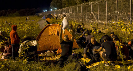 Hungary declares emergency, seals border, and detains migrants