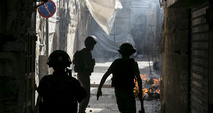 Clashes at Jerusalem holy site for third day in a row