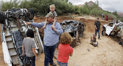 Polygamist community in Utah devastated by 'once-in-a-century' flood