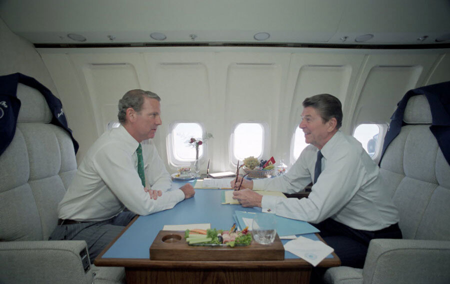 Gop Debate How Did Reagan Library Get A Real Air Force One