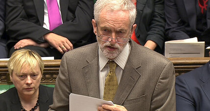 Labour leader Jeremy Corbyn brings quiet, calm manner to Parliament