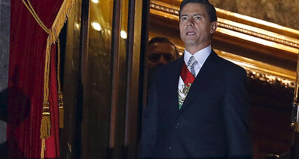 Mexican president's independence cry gets a testy response