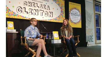 Has Chelsea Clinton written a children's book? Not really.