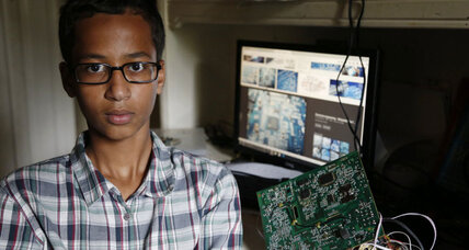 Why #IStandWithAhmed is about more than a Muslim boy in Texas (+video)