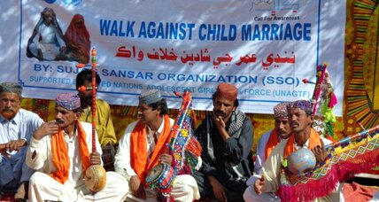Men are stepping up to oppose child marriage in Pakistan