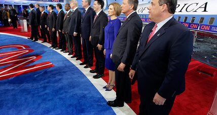 GOP debate: Carly Fiorina shows pluses, minuses of 'running while female' (+video)
