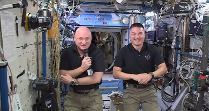 What's it like to spend 6 months in space? Scott Kelly just misses home.