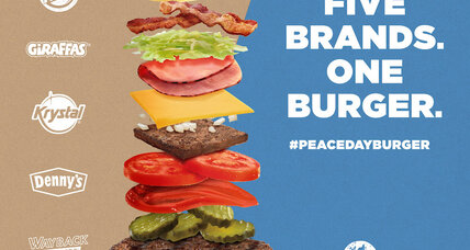 Burger King and rivals will give away 'Peace Day' burgers without McDonald's