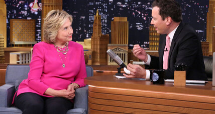 Clinton the comedian: Will late-night jokes broaden her appeal? (+video)