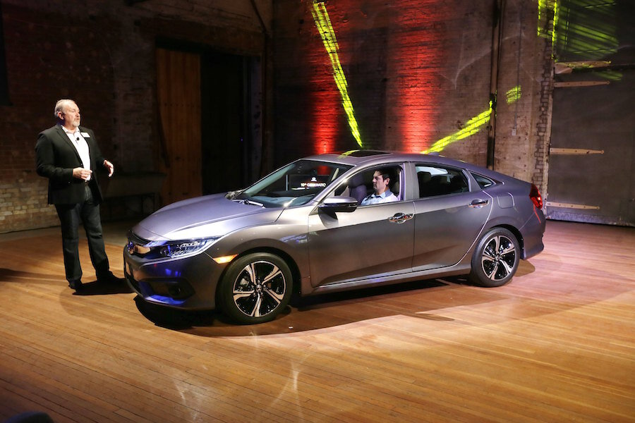2016 Honda Civic Sedan Offers Sleeker Lines And A More Efficient Turbo Engine