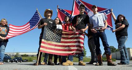 Student suspended over Confederate symbol vows to stand his ground
