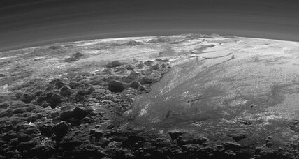 Stunning new Pluto photos: See mountains, sunset, wispy atmosphere